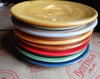 Set of 6 Appatizer and Tapas Plates