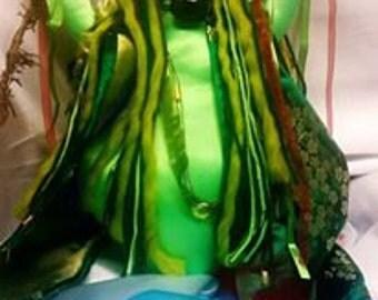 Goddess Airmid  Goddess Doll Alter Doll