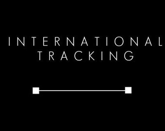 Tracking Upgrade - International Orders