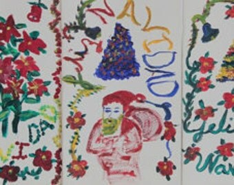 Christmas Card Set- 5 (2014)