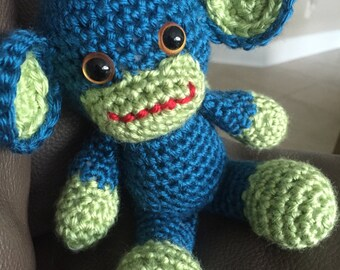 Crochet Monkey, Amigurumi Monkey, Baby Safe Animal, Stuffed Monkey, Amigurumi Animal, Handmade Stuffed Animal, Crocheted Stuffed Animal