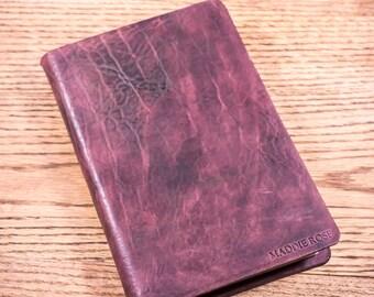 Full Grain Cowhide Leather Bible, KJV Ultraslim