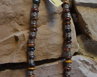 Natural Pietersite Healing Stone Anklet