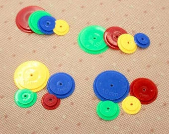 Patchwork Tooling/Tracing wheels for tailoring 3mm 5mm 7mm 10mm (4Pcs in a set)