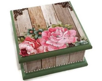 Garden Theme Keepsake Box