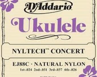 D'addario Nyltech Concert Ukulele Strings