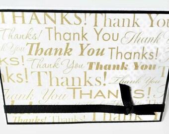 Thank You Card Set | Handmade Greeting Card Set | Blank Notecards