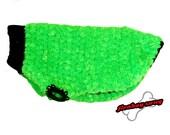 Skippy's Fantastic Neon Green Heavyweight Super Soft Dog Sweater
