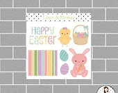 Mini Easter Sheet Planner Stickers