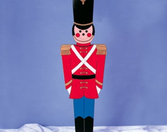 "Toy soldier 34"" Tall"