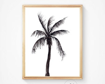 Palm prints, Tropical art, Palm tree art, palm print, Palm art, Wall prints,Palm trees,California print, Tropical print, palm, Palm wall art
