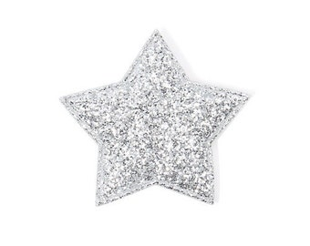 5 x Silver Star / Gift Box Wrapping