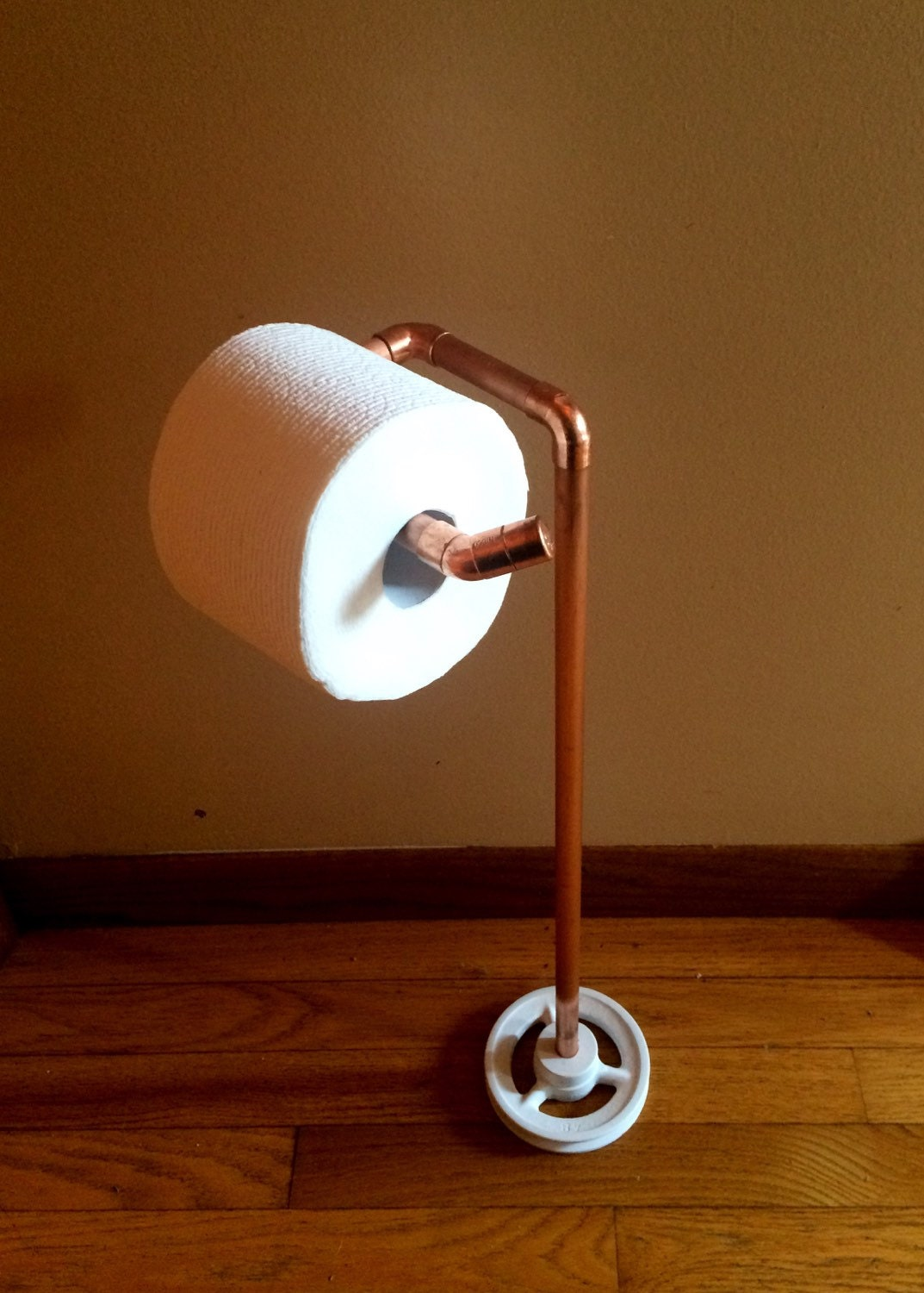 Copper Pipe Toilet Paper Holder Craftbnb