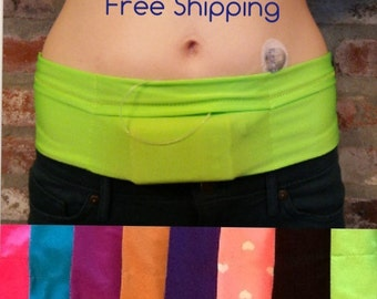 Insulin Pump Band, Contemporary Style with one pocket/The Original Insulin Pump Band