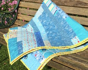 Handmade Patchwork Picnic Blanket