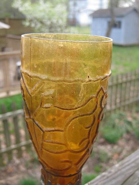 Small Amber Oil Lamp U K Registered Design By Mybeachandmore