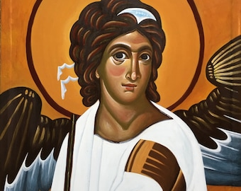 Eastern Orthodox Icon - White Angel