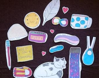 Stim Toy Stickers! -Autism -ASD -Anxiety -ADD