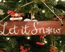 Christmas wood sign, Rustic Christmas decor, Rustic Christmas ornaments, Christmas decor ideas, Christmas decorations, Farmhouse Christmas