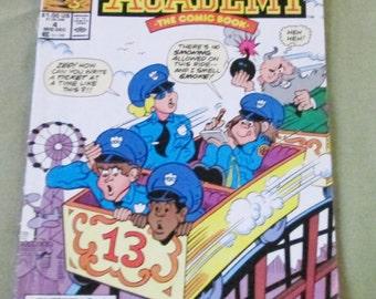 Police Academy -  Marvel Comic Book December 1989