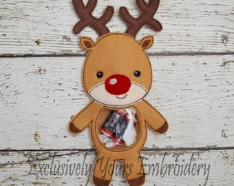 Reindeer Candy Pouch