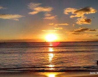 Ocean Photography from Waikiki Beach, Hawaii