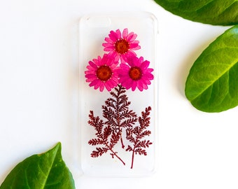 Pressed Flower iPhone Case iPhone 5C, Real Flower iPhone 5C Case, Pressed Flower iPhone 5C Case, iPhone Case