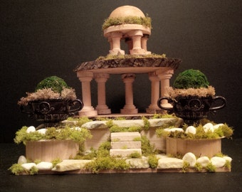 OOAK Fairy House: Roman Ruins