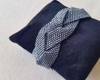 Peyote Plaits Bracelet