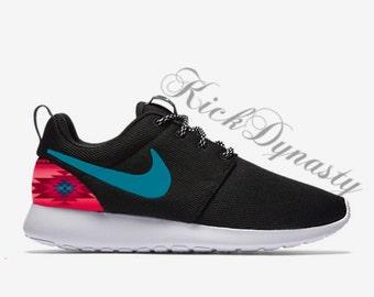 Tribal Aztec Pink Nike Roshe Run Custom Sneakers