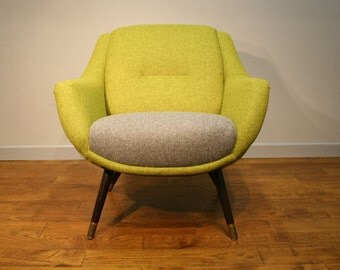 Early 1960's Vintage Armchair