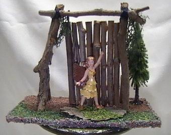 Fairy Garden Gate w/ Fairy