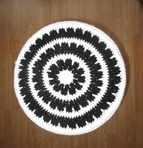 Crochet Bar Stool Cover Black And White Stool Cover Bar
