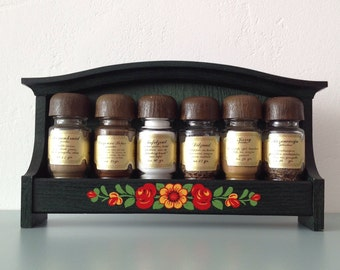 Spice Rack On Wall Wall Spice Rack  Etsy