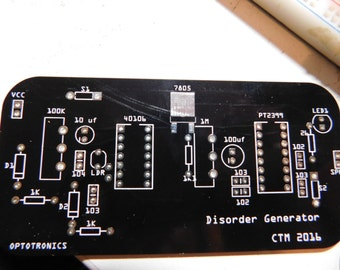 Disorder Generator