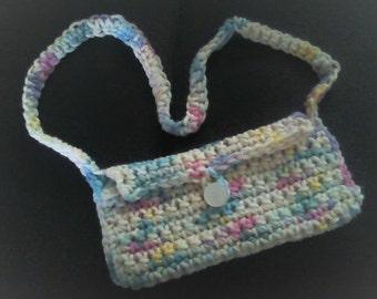 Little girls crochet purse