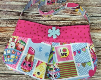 Shopkins Toddler Purse Handmade to Order