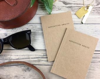 Adventure Awaits Pocket Notebook (Set of 2)