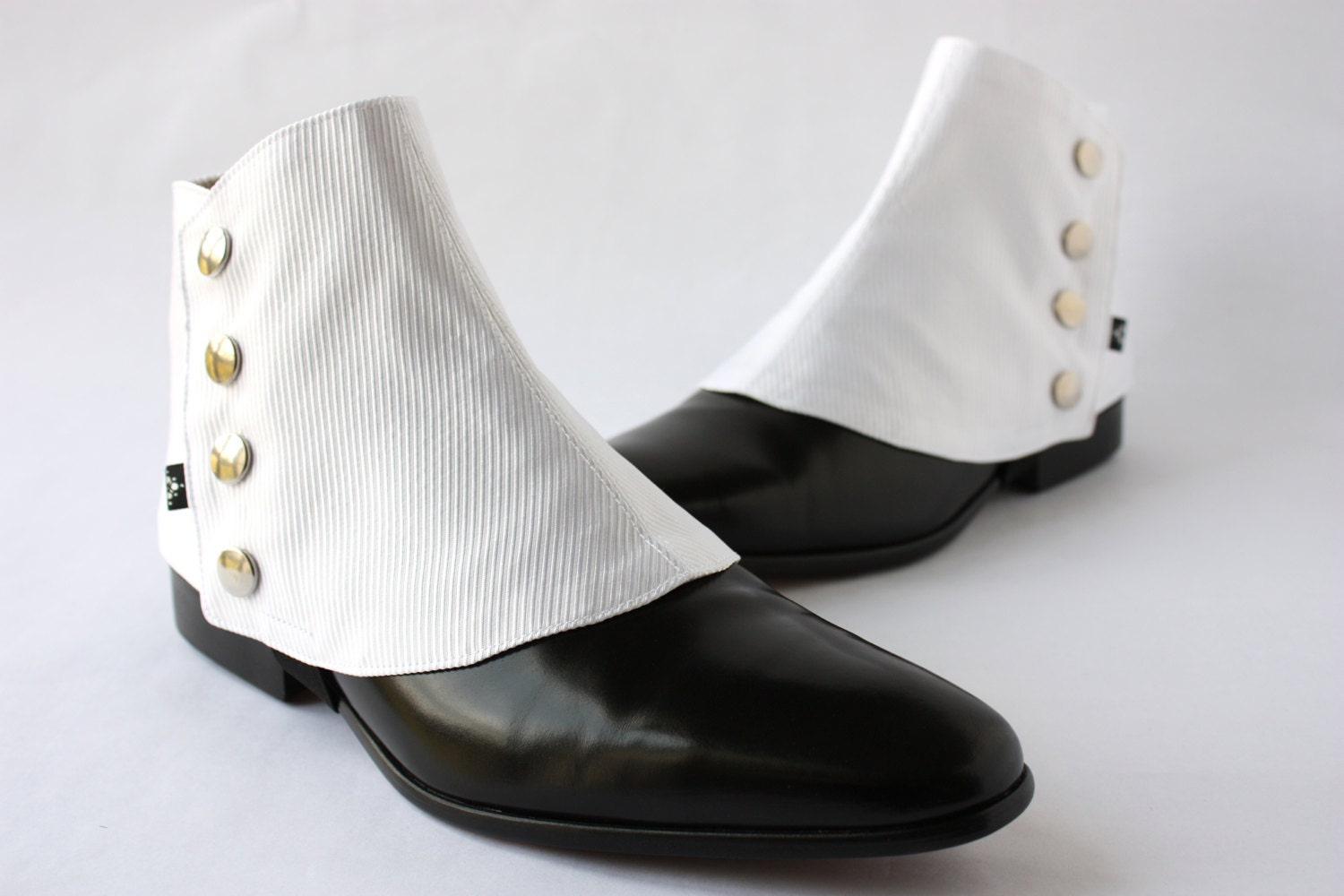 White Black Dressy Shoes