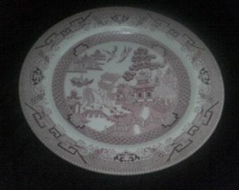 Dinner Plate Pink Willow Churchill