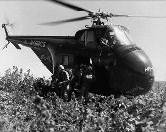 24x36 Poster . Sikorsky Hrs-1 Helicopter 1951 Korean War
