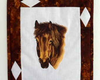 Brown Horse Wall Hanging