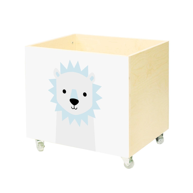 Speelgoed borst kwekerij speelgoed box speelgoed bin door nobobobo
