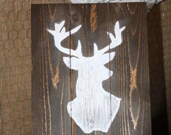 White Buck Sign