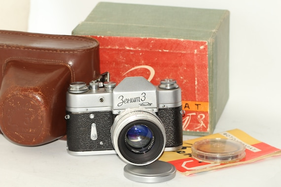 Zenit-3 RARE Vintage Soviet SLR & Helios-44 Lens KMZ (13 Blades) N62025867