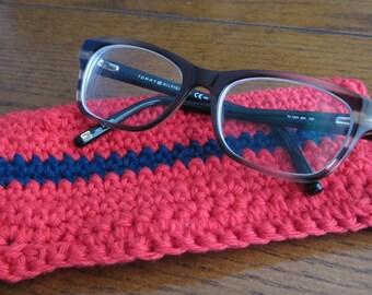 Handmade Crochet Glasses Case
