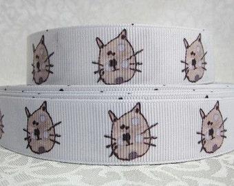 "7/8"" 22 mm Grosgrain Ribbon --- Making Hair Bow Supplies Printed Ribbon by the yard we sell wholesale ribbon"