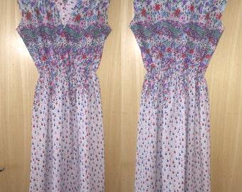Vintage floral dress UK 16-20