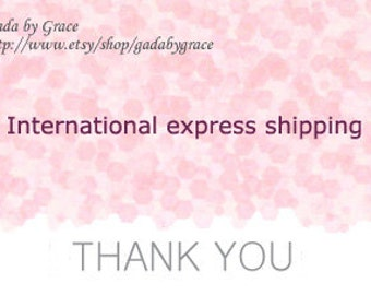 Upgrade shipping option for international customers