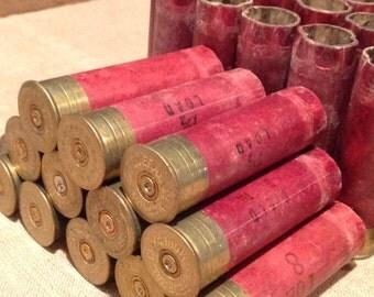 Vintage Empty 12 Gauge Shotgun Shells